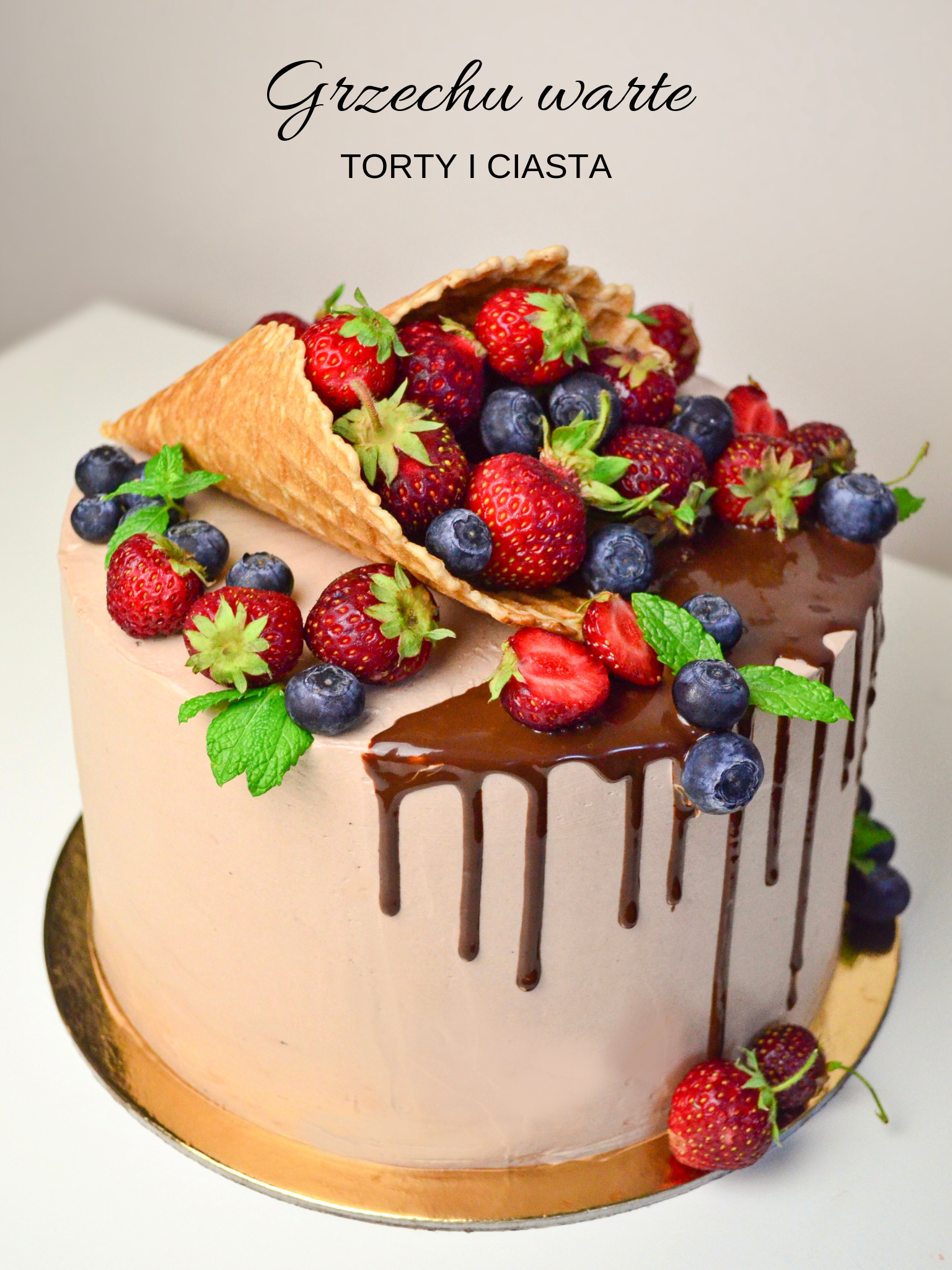 Torcik Z Rozkiem Cake Desserts Birthday Cake