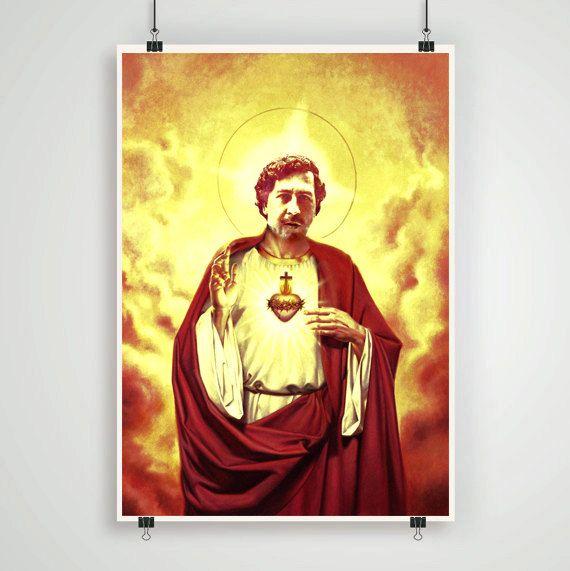 Pablo Escobar Vs Chapo >> Pablo Escobar Narcos series poster escobar jesus art by Lautstarke   Dope Posters   Pinterest ...