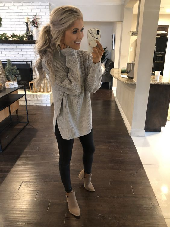30 Fall Outfits Ideas for Women Casual Comfy and Simple #womensfashion