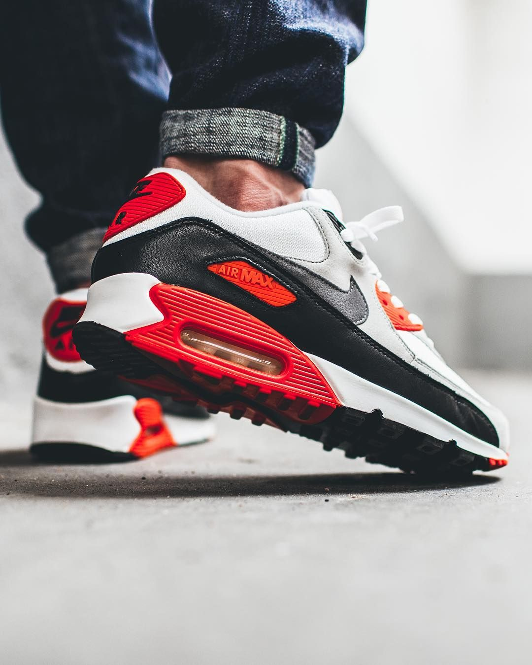 super popular b8732 659ae Nike Air Max 90 Infrared (by appie.tv)