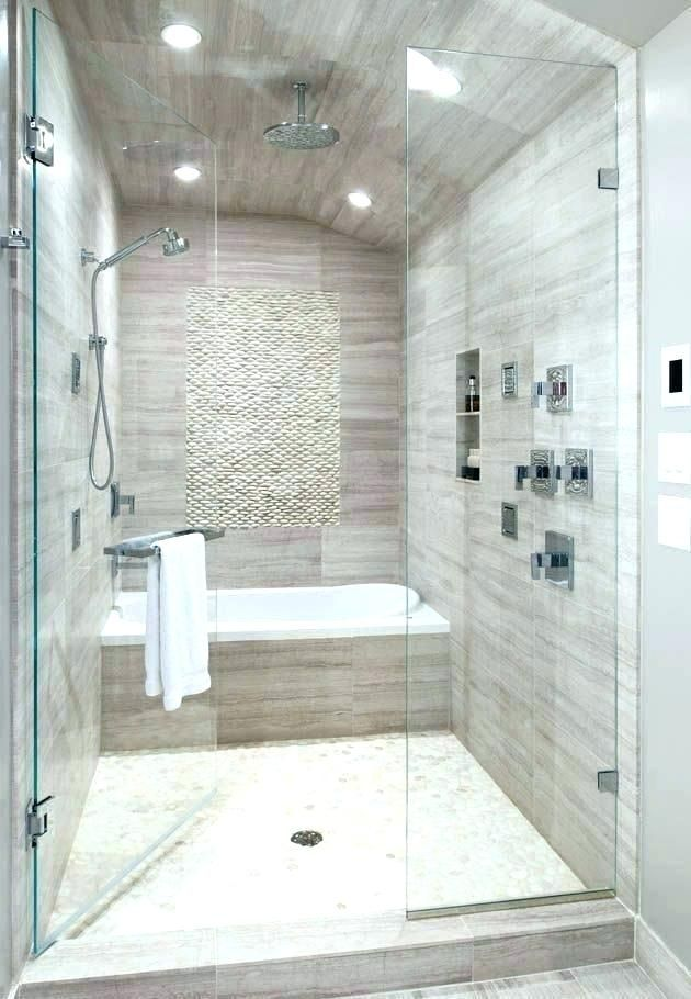 Soaking Tub Shower Combo Combination Bathroom