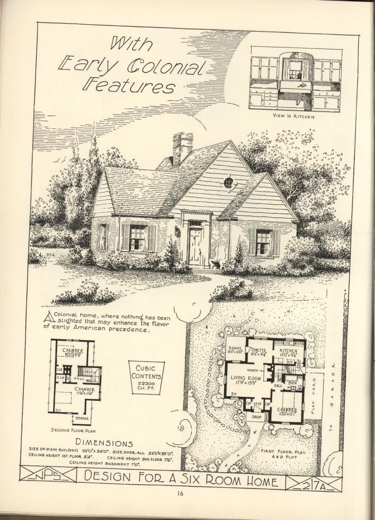 Lake shore lumber coal house plans for Antique house plans