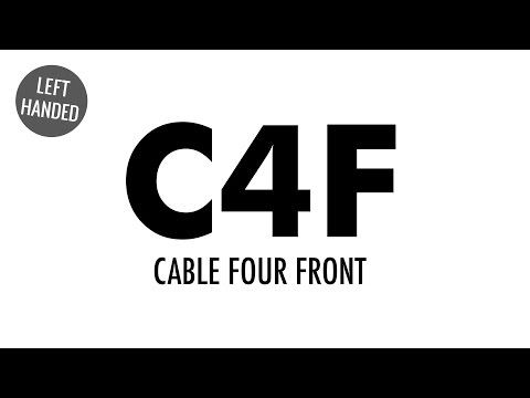 The Cable Four Front (C4F) :: Knitting :: New Stitch a Day | Tricot ...