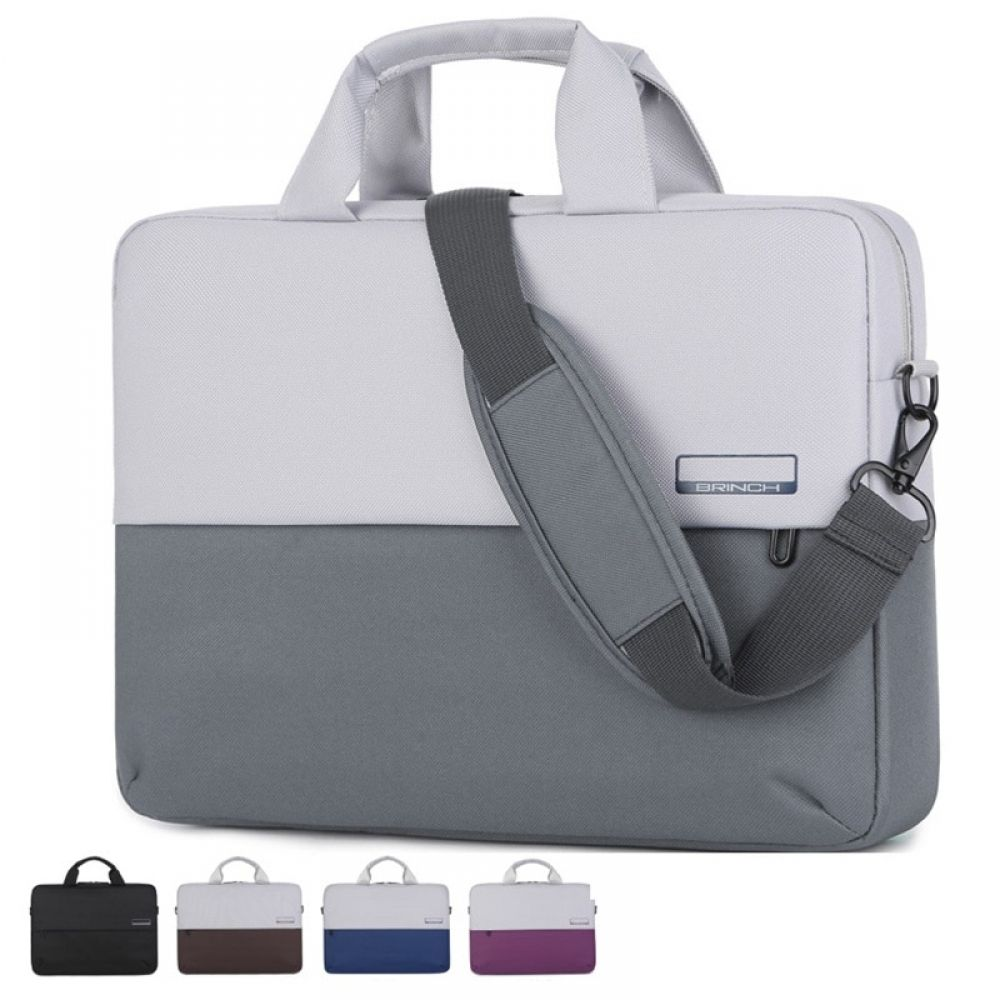"15/"" Laptop Computer Sleeve Bag with 2 Top Pockets /& Shoulder Strap Handle 3102"