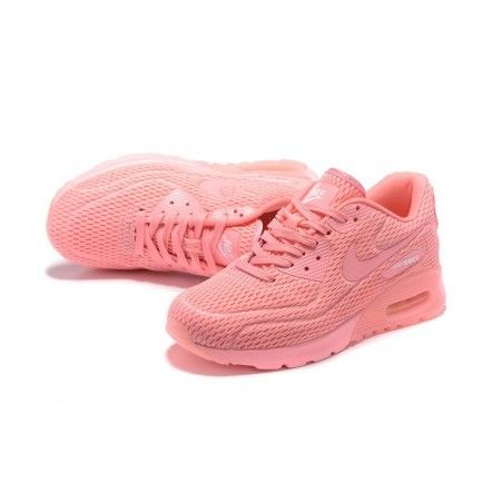 Nike Air Max 90 Women Watermelon Red Training Shoes Top Deals