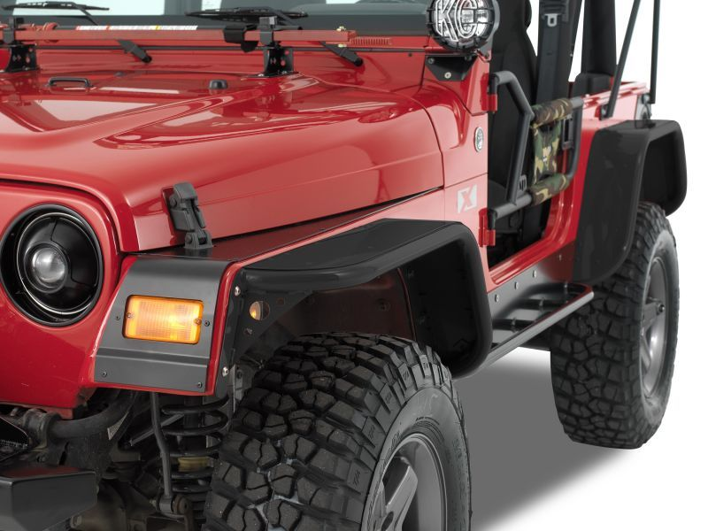 Warrior Products Tube Flare Kit for 97-06 Jeep® Wrangler TJ ...
