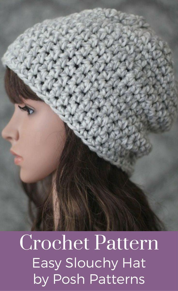 Crochet PATTERN - Easy Crochet Hat Pattern | Kids boys, Elegant and ...