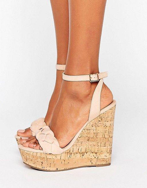 chaussure compens�e haut talon