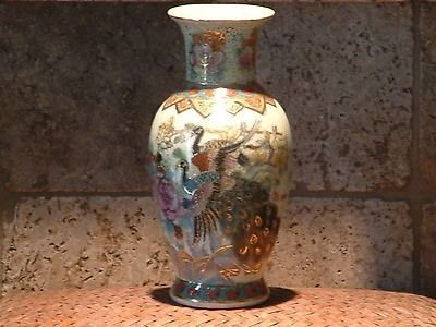 Gorgeous Handpainted Asian Inspired Vase Ebay Expenses Chinese