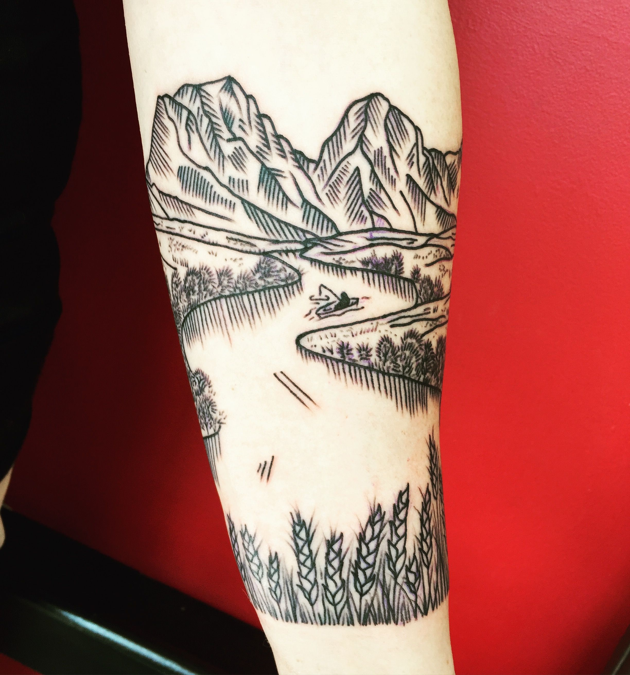 Portland Tattoo Parlor - New Rose Tattoo, Erica Kraner | tattoos ...
