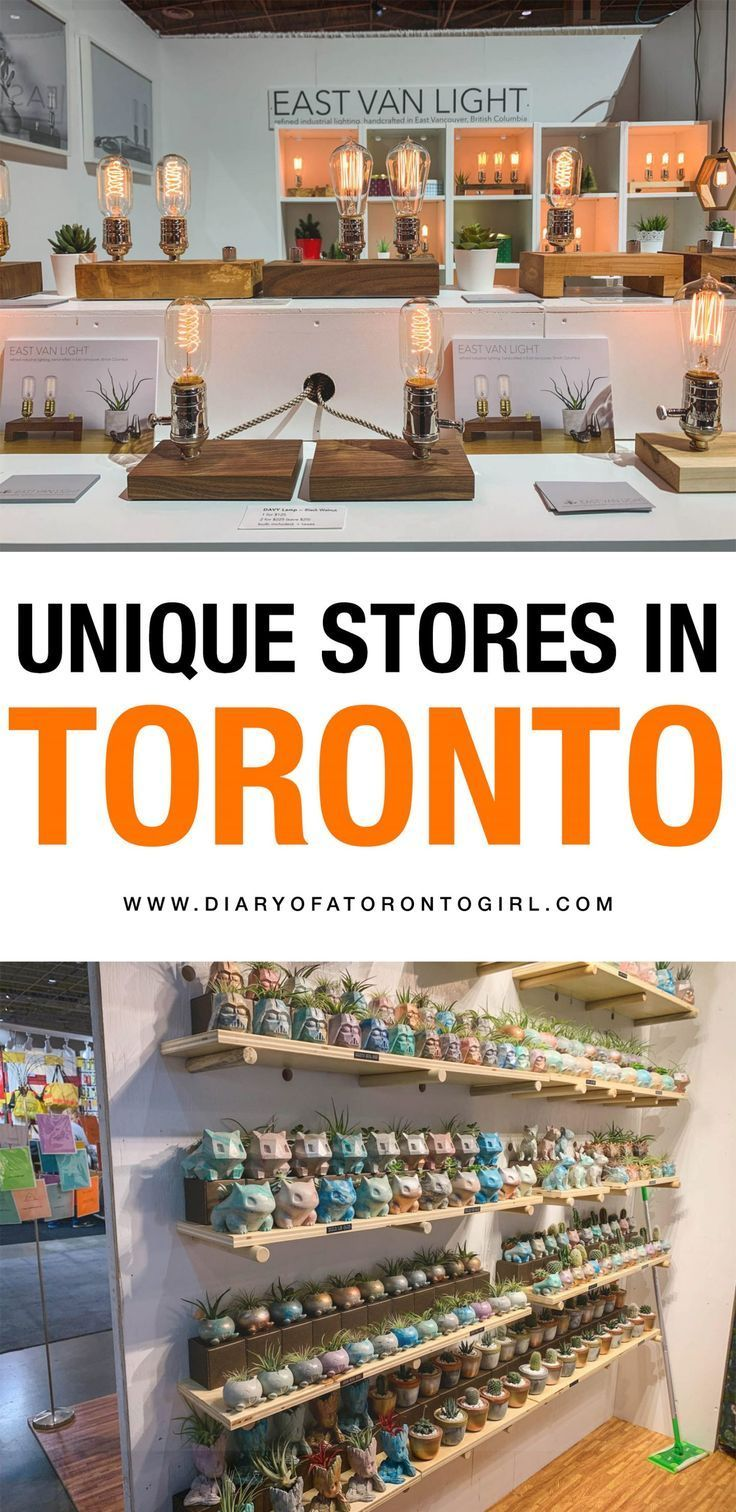 Unique Toronto stores to shop at for all of your holiday gifts! #toronto #ontario #ontariotravel #ontariocanada #canada #canadatravel #canadian