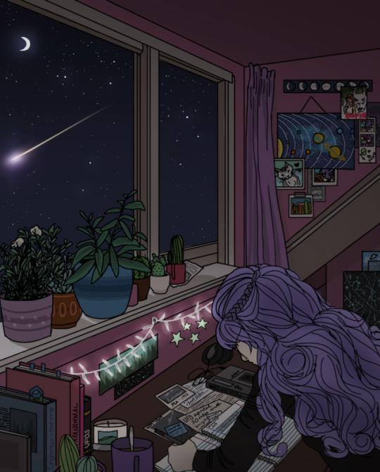Anime Apartment: Arte Fofa, Arte Bonita, Desenho De Quarto