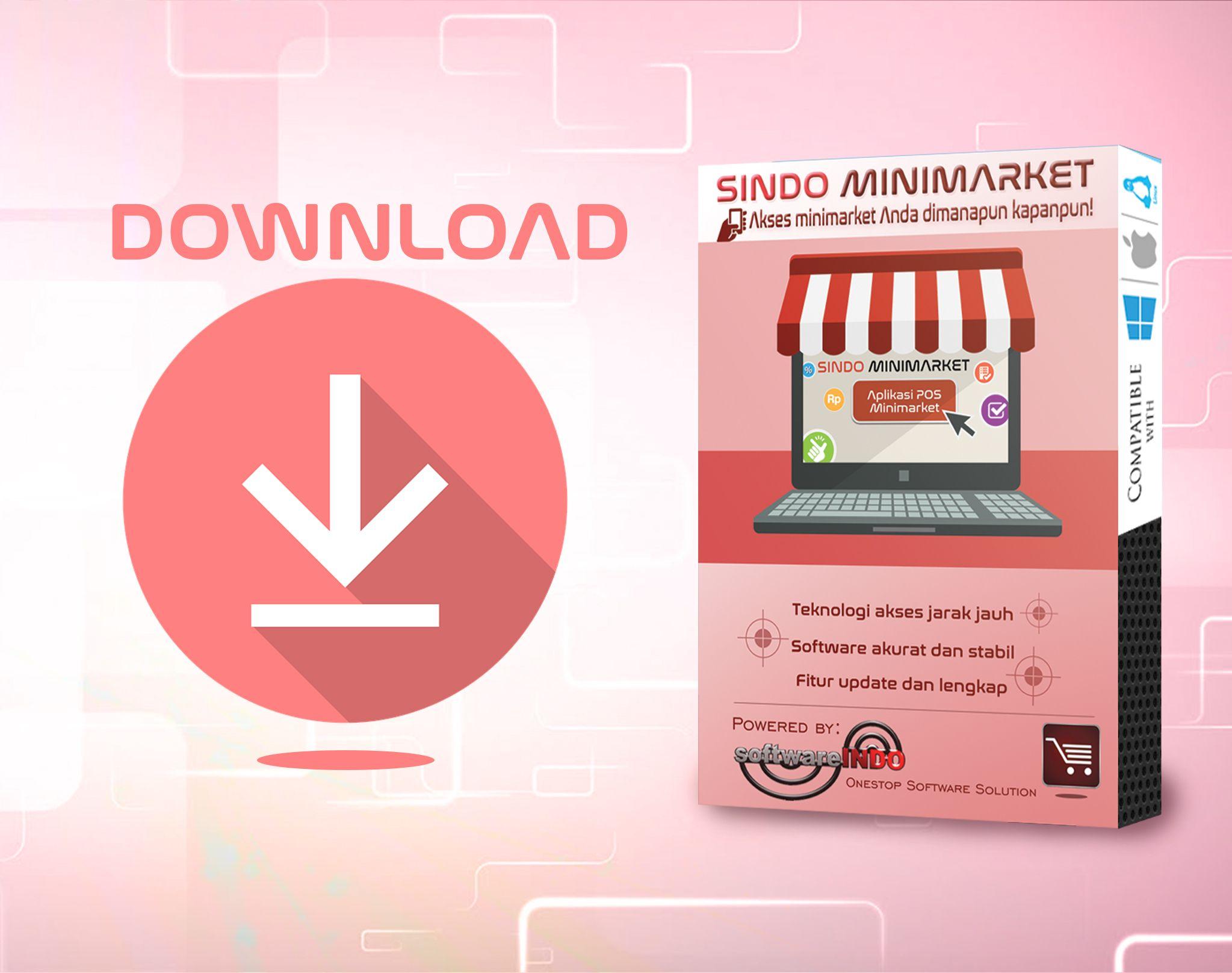Download Software Minimarket Sindo Minimarket Series Pelayan Beri Gratis