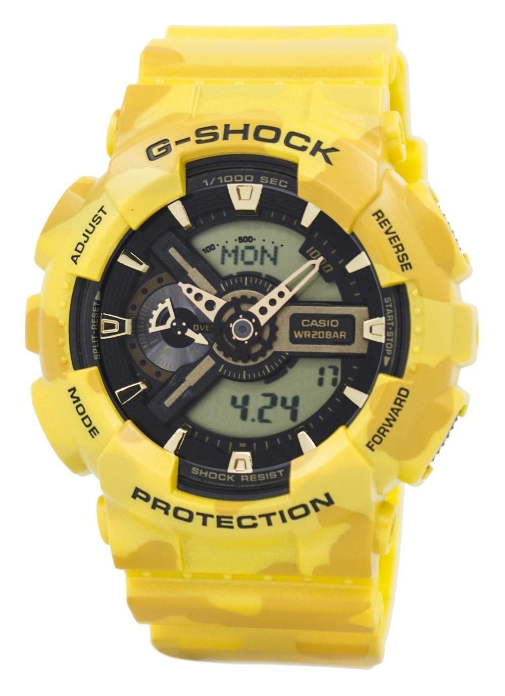4b5ab57e9 Casio G-shock Camouflage Series Analog-digital Ga-110cm-9a Men's Watch