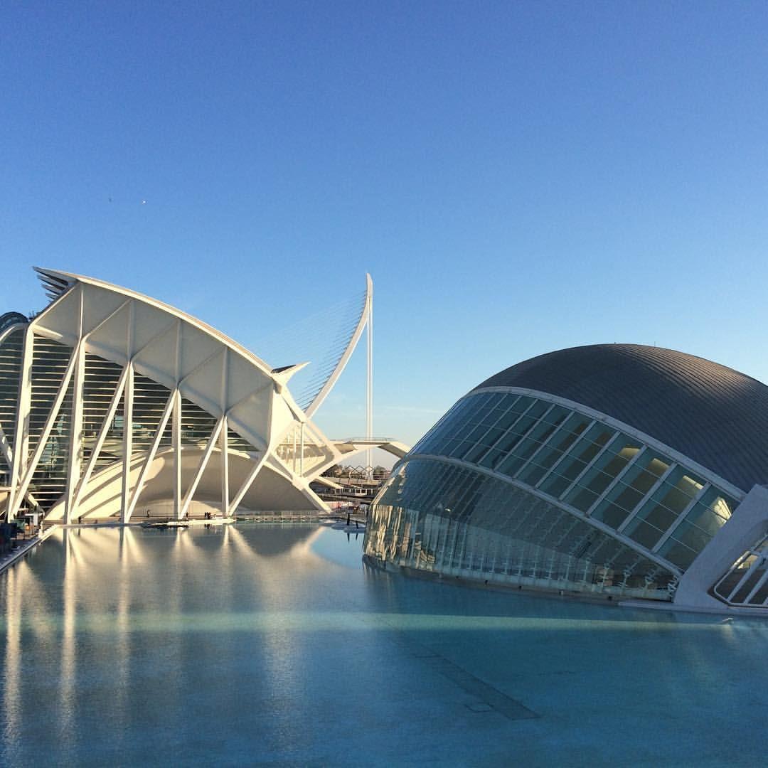 Ciudad de las Artes y las Ciencias. Valencia.