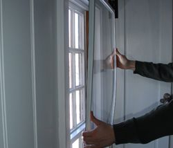 Climate Seal Acoustical Window Inserts Diy Interior Storm