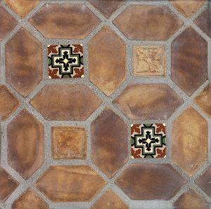 Arabesque Tuscan Mustard 4 X8 Picket With Malibu Kanan A X4 Ceramic Tile