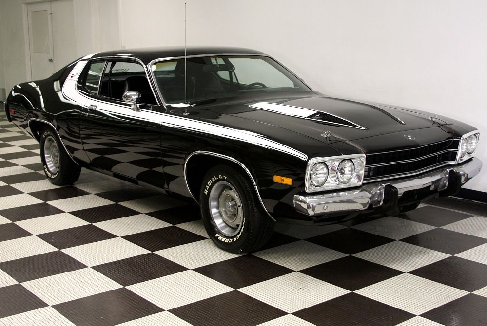 '74 Plymouth Road Runner. Okay seriously a car with Road Runner in the name is so cool.