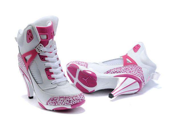Femme Pour Chaussures Nike Talon 2Basket Talons Jordan qLR34Ac5j