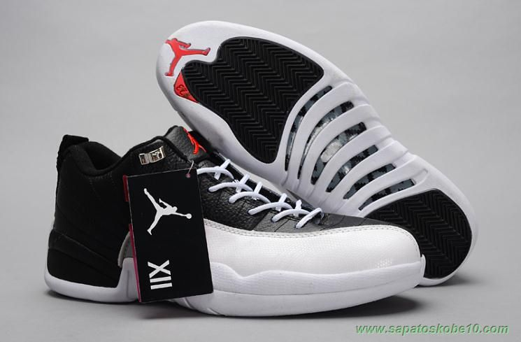 sites de lojas de tenis BrancoPreto AIR JORDAN 12 RETRO LOW PLAYOFF  Michael  Jordan ShoesAir