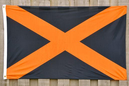 Navy Orange Alabama Flag By Volunteer Traditions Flag