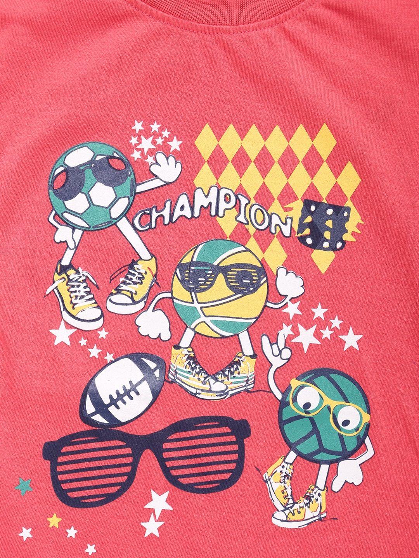899753bd Buy Dollar Champion Kidswear Boys Pack Of 3 T Shirts - Tshirts for Boys  8026521   Myntra