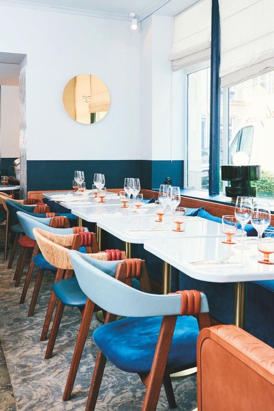 Le Paris de Karel Balas   Restaurant design, Restaurants and Paint ...