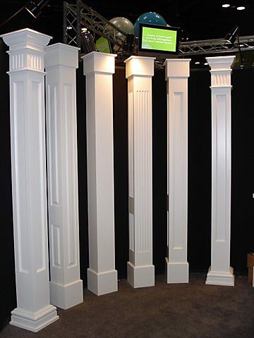 Architectural Pvc Porch Columns This Would Fit Over Existing