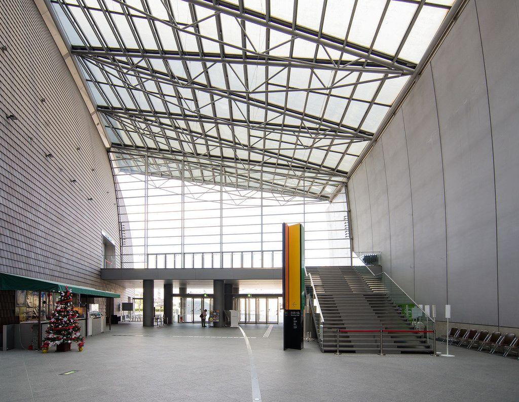 Nara Centennial Hall (なら100年会館) / Architect : Arata Isozaki (設計:磯崎新アトリエ)