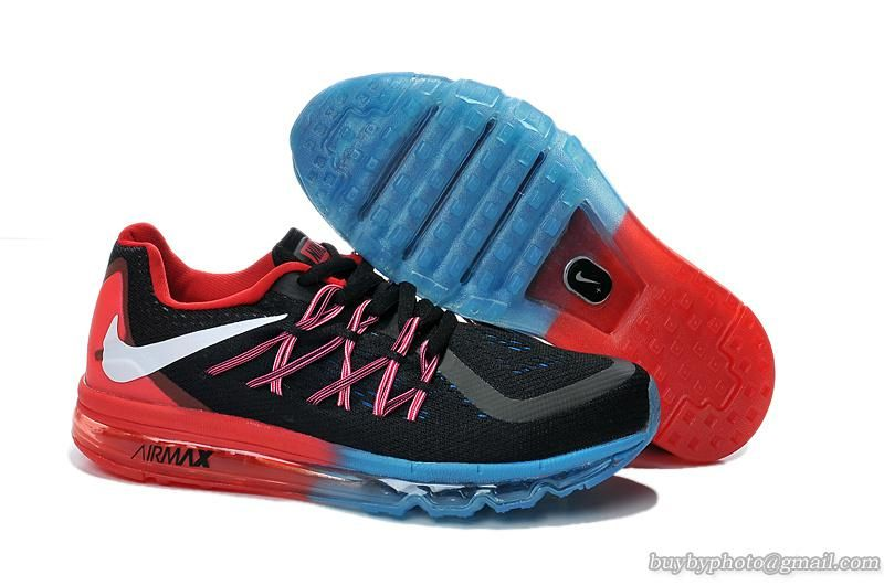 nike air max 2015 red black