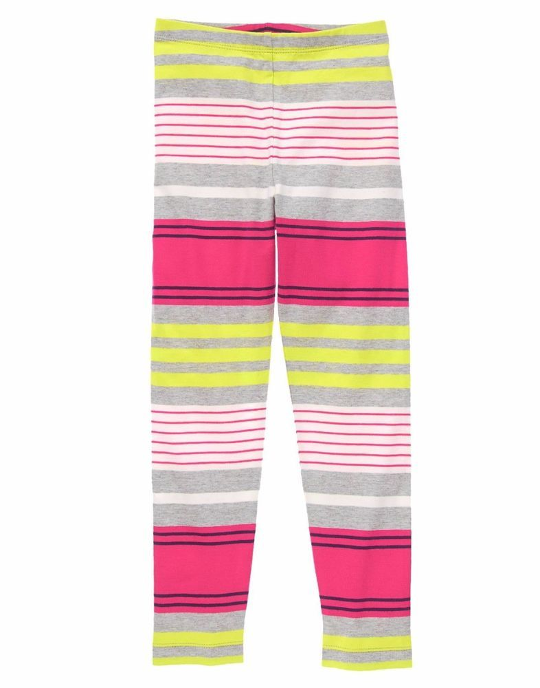 0f097e8b608e7 Gymboree Girls Size 5 Bright Stripes Striped Leggings NWT | Carter's ...