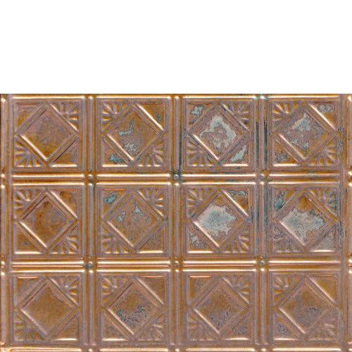 Diamondback Squares Copper Backsplash Tile 0603 Copper Backsplash Metallic Backsplash Tile Backsplash