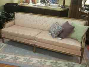 *swoon* I love the lines on this sofa... Less than $400 too? Keeper, I say. :-)