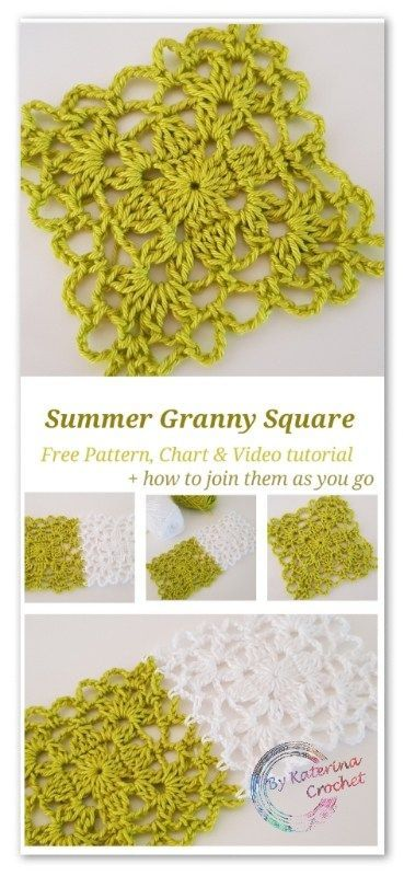 Stitch of the week #22: Summer Granny Square #grannysquares