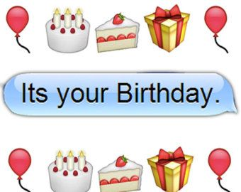 emoji birthday - Google Search | cute boards | Pinterest