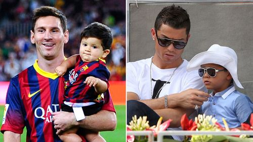 messi and ronaldo sons age difference in dating