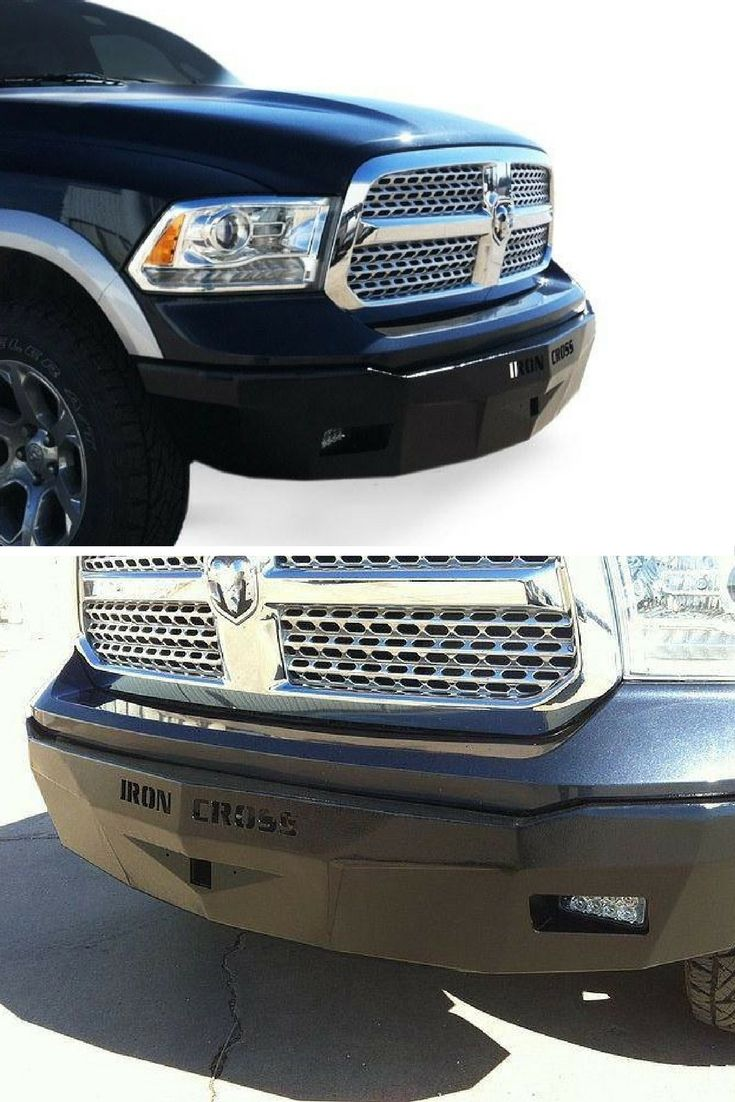 Dodge Ram Custom Grill : dodge, custom, grill, Cross, Profile, Series, 2013-2017, Dodge, 1500,, Slimmest, Aftermarket, Steel, Bumper, Trucks, Bumper,