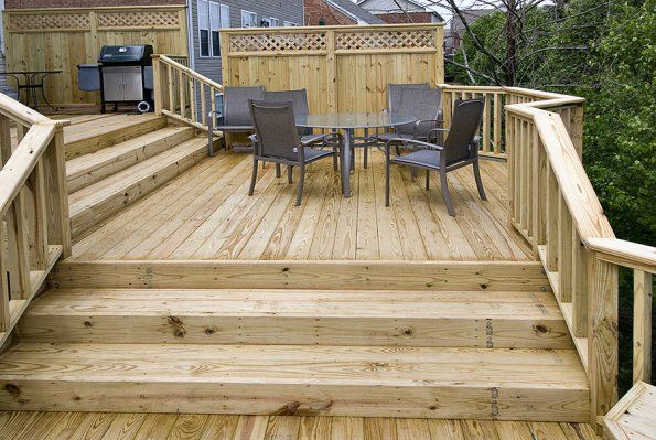 Tiered Deck Plans Com Zenphoto Vergatos 3 Level
