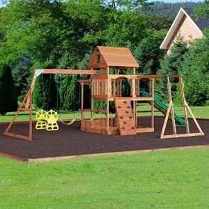 Backyard Discovery Monticello Cedar Swing Set backyard discovery monticello cedar swing set in 2018 | backyard