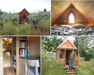 on the outskirts of sebastol this small house has been a childhood dream for artist - Smallest House In The World Pictures