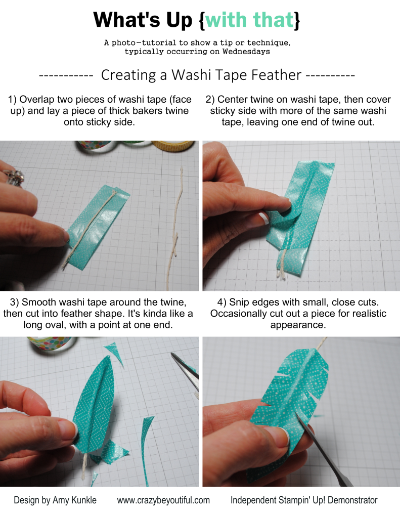 Washi Tape Feather Ways To Use Washi Tape What 39 S Up