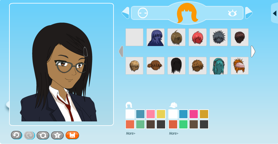 How To Create A Custom Character In Goanimate Tutorial Videoediting Character Creator Character Manga School