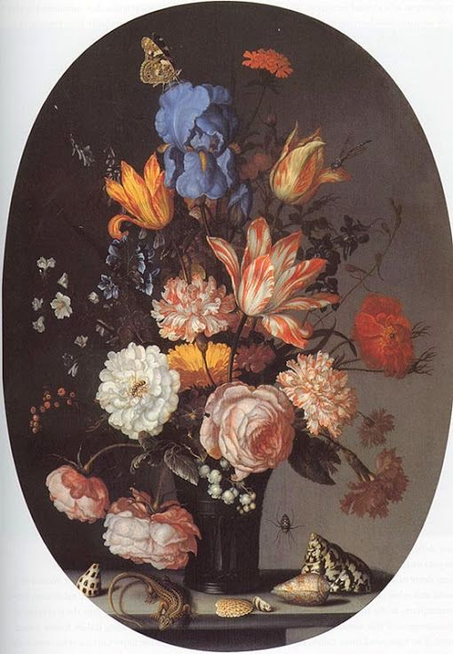 AST Balthasar Ast private New York Bouquet of flowers c1630