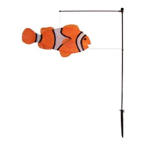 """Clown Fish Swimming Fish - 23"""" x 12"""""""