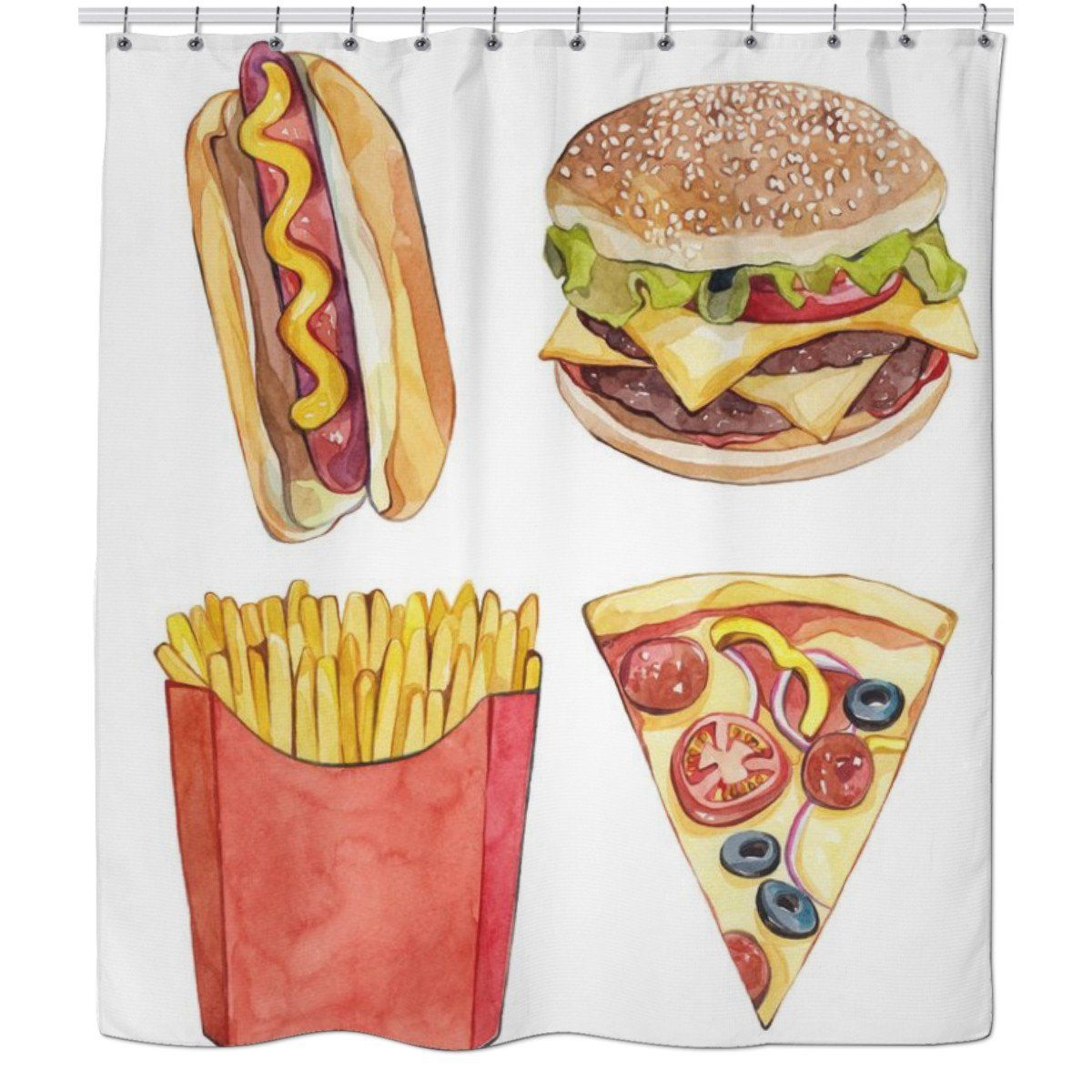 Shower Curtain In