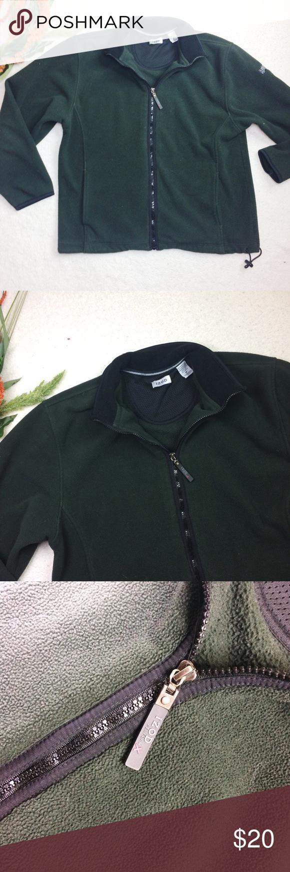 Izod Fleece Jacket Fleece Jacket Clothes Design Jackets [ 1740 x 580 Pixel ]