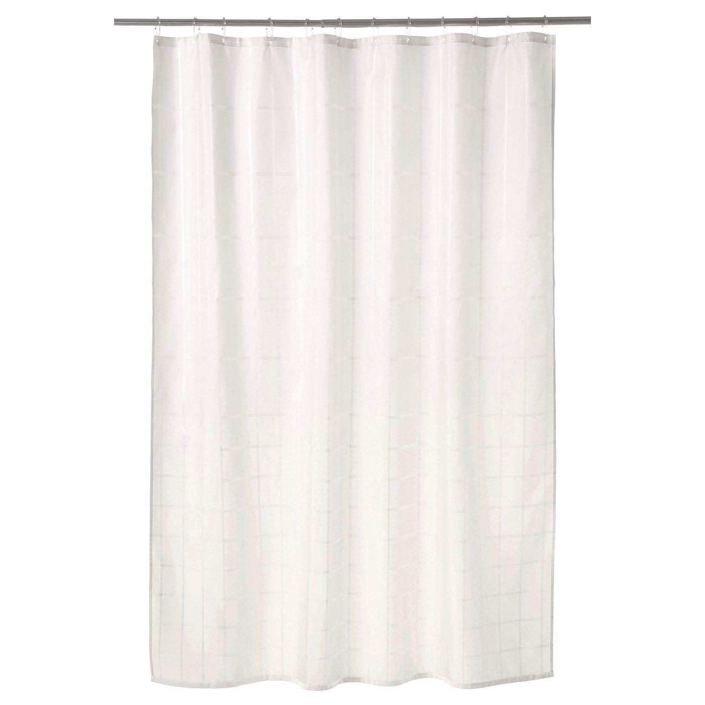 Klockaren Off White Shower Curtain Ikea In 2020 Shower