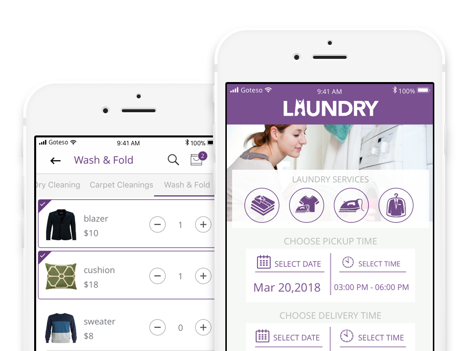 Laundry And Dry Cleaning Business Management Software Goteso