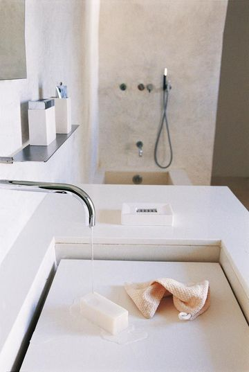 Déco salle de bain  photos de salles de bains qui optimisent l\u0027espace