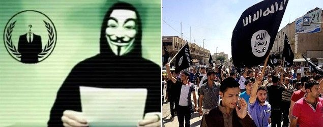 Anonymous and ISIS